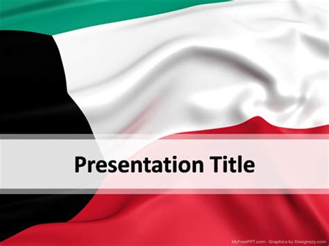 Powerpoint Templates Kuwait | free flags powerpoint templates themes ppt