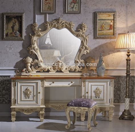 solid beech wood hand carved royal rococo bedroom furnitureanqitue baroque bed room setfrench