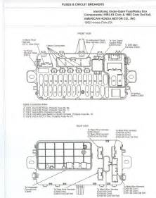 97 honda civic dx fuse box diagram get free image about