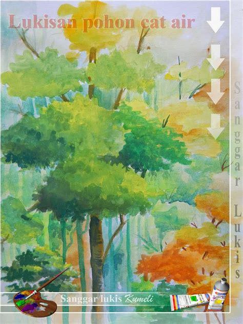 pin lukisan cat air ilustrasi dan gambar desain ajilbabcom portal on