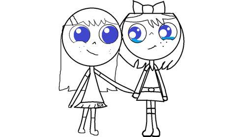imagenes para dibujar mejores amigas imagenes de mejores amigas para dibujar imagui