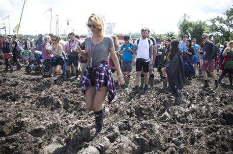 Get Ready For Glastonbury Festival Bum Bag At Asos by Glastonbury Festival Sets A New Mud Record Uk News