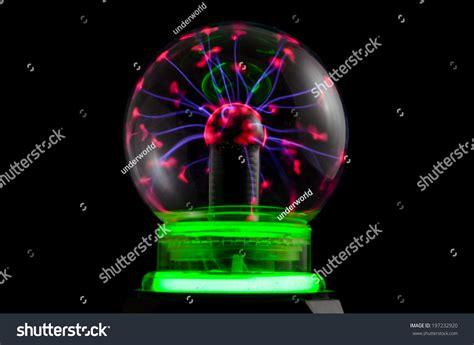 Tesla Sphere Plasma Static Electricity On A Tesla Sphere Stock Photo