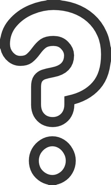 large printable question mark bubble question mark clip art at clker com vector clip