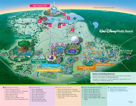printable disney world maps best photos of walt disney world map printable walt
