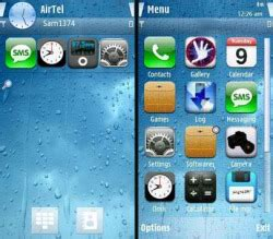 iphone themes symbian download free iphone symbian mobile phone theme 561