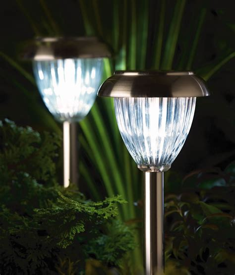 Collection Solar Outdoor Garden Lights Pictures Garden And Solar Landscaping Lights Outdoor