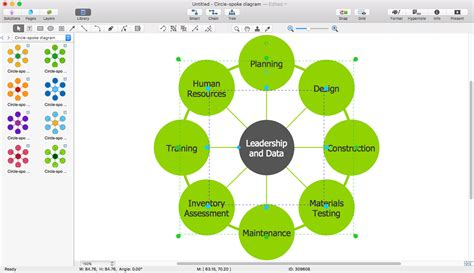 how to create a use diagram in visio 2010 create visio circle spoke diagram conceptdraw helpdesk