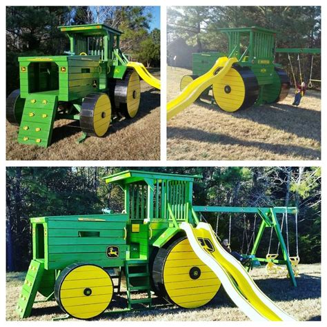 john deere swing set john deere tractor colors tractor play set pinterest
