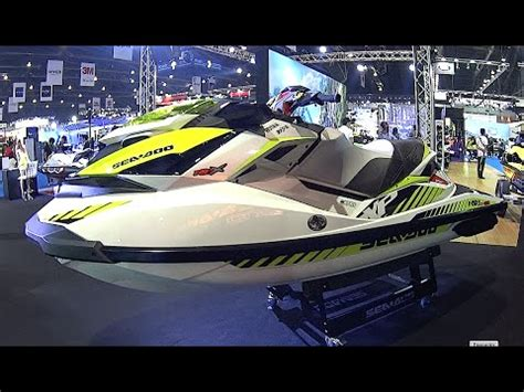 sea doo wave boats new 2016 2017 watercraft sea doo rxp x 300 1630 cc youtube