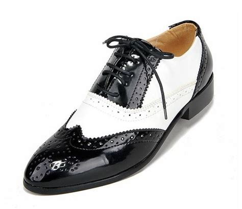 black and white oxford shoes for ntw black white mens oxford costume shoes dress