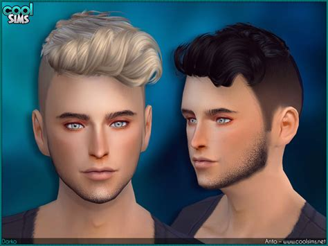 Sims 4 Cc Guys Hair | alesso 187 sims 4 updates 187 best ts4 cc downloads