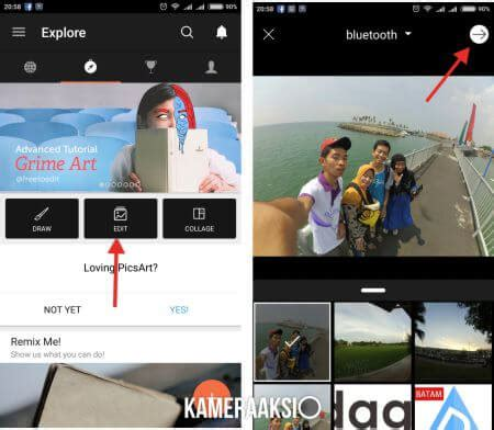 cara edit hasil foto xiaomi yi cara menambahkan watermark foto kamera aksi gopro yi cam