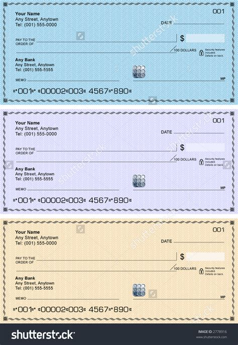 cashiers check template blank check clipart 64
