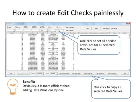 How To Make A Background Check How To Create Edit Checks In Medidata Painlessly