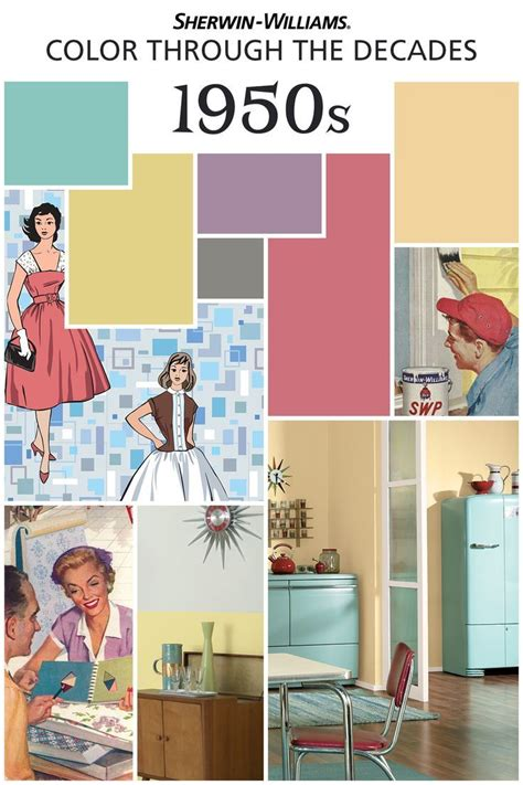 home design trends through the decades just celebrating color 150 years of palettes http www sherwin williams com homeowners color