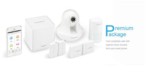review ismartalarm home security system with icamera