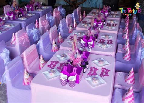 barbie home decoration barbie themed party cape town the party b kids party