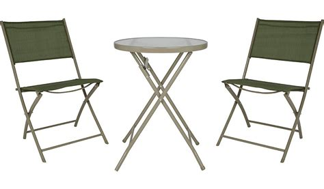 Asda Bistro Table Miami 3 Balcony Bistro Set Garden Furniture George At Asda