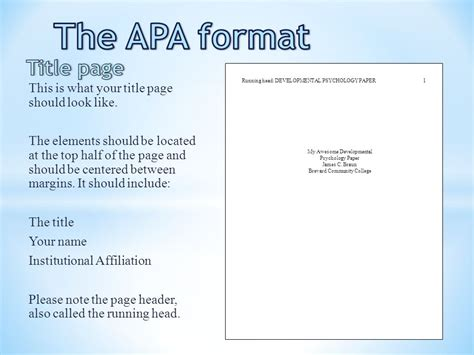 Asa Paper Headings