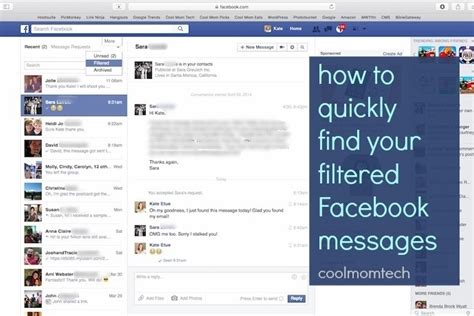 Facebook hidden messages (yikes!) and how to find them