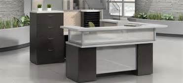 Global Reception Desk Global Zira Series U Shaped Reception Desk Configuration