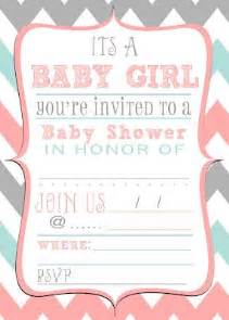 Free Download Baby Shower Invitation Templates