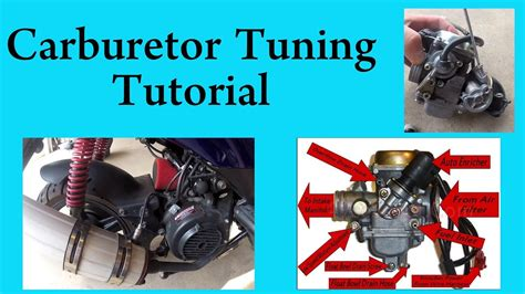 tune  carburetor   gy chinese scooter