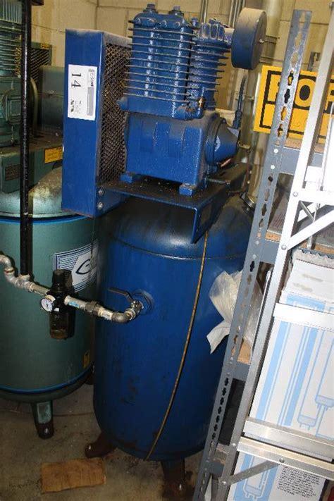 castair  gallon tank air compressor burnsville auto repair shop liquidation  bid