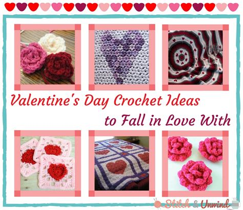 Crochet Giveaway Ideas - 11 valentine s day crochet ideas to fall in love with stitch and unwind