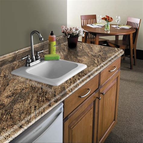 Shop Belanger Fine Laminate Countertops Formica 6 Ft Laminate Kitchen Countertops