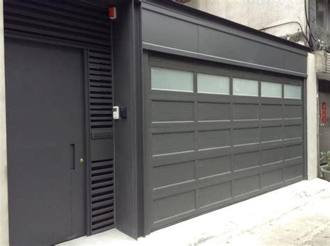 Stacked Garage by O Leary Stacking Garage Doors Modern Garage Doors