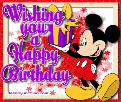 mickey mouse happy birthday images mickey happy birthday gif 380 215 322 poems for my
