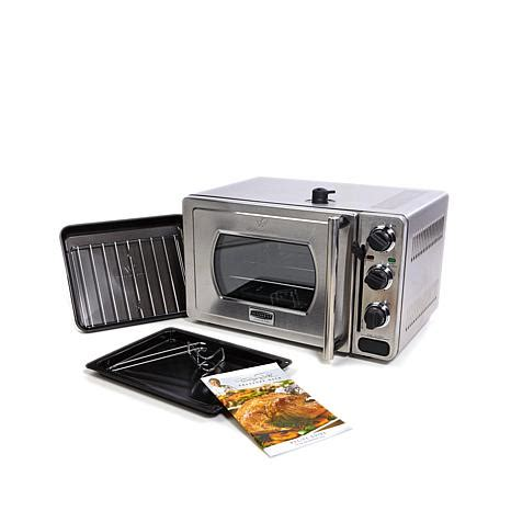 wolfgang puck countertop pressure oven appliances wolfgang puck essential 22 liter stainless steel pressure