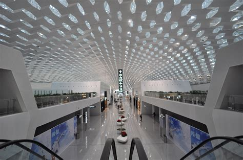 air max terminal 3 at shenzhen airport by studio fuksas shenzhen bao an international airport australian design