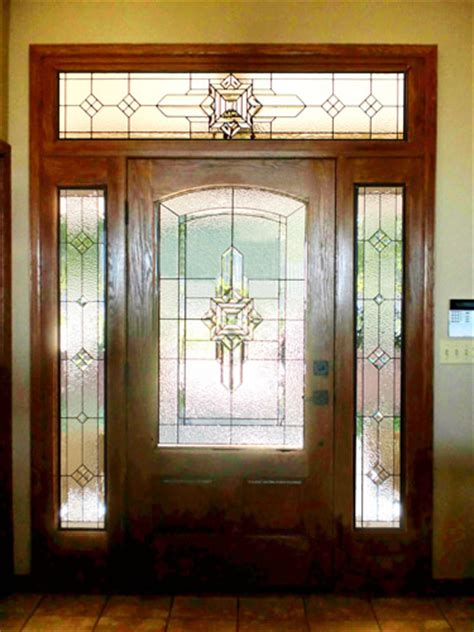 stained glass entryway doors dallas