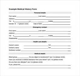 history form template 14 history forms free sle exle format
