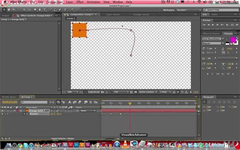 tutorial after effect cs5 after effects cs5 tutorial basic keyframing motion