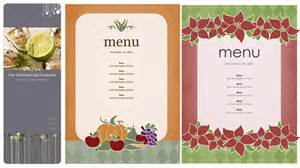 Menu Template Doc by How To Create A Food Menu In Word Food Ideas
