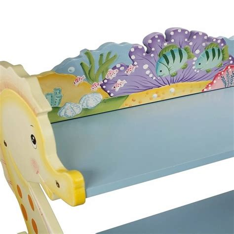 Under The Sea Furniture fantasy fields hand painted under the sea bookshelf w 7490a