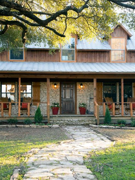gaines house fixer upper country farmhouse goes from scary to