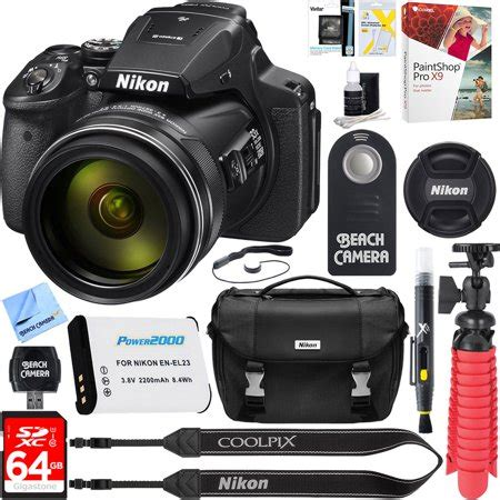 Nikon P900 4 Sale by Nikon Coolpix P900 16mp 83x Zoom 4k Wi Fi Gps Digital 64gb Memory Accessory