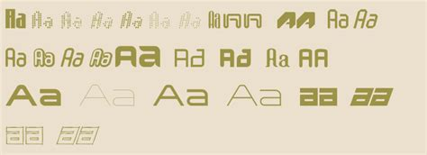 techno font techno fonts complete family pack fonts