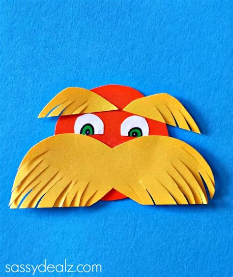 printable lorax eyes lorax toilet paper roll craft for kids dr suess
