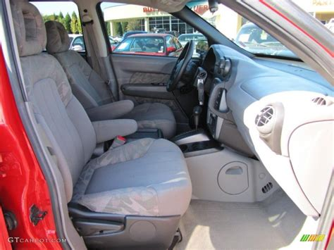 2003 pontiac aztek standard aztek model interior photo