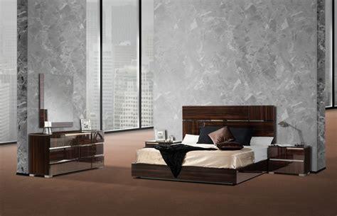 italian modern bedrooms picasso italian modern ebony lacquer bedroom set