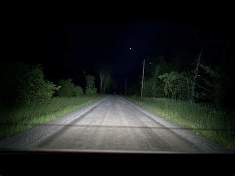 led light bar at night led light bar night test and review nextech industries
