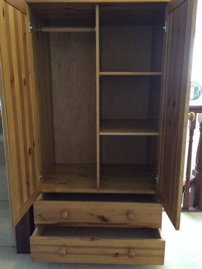 Small Wardrobes For Sale Small Pine Wardrobe For Sale In Rathfarnham Dublin From