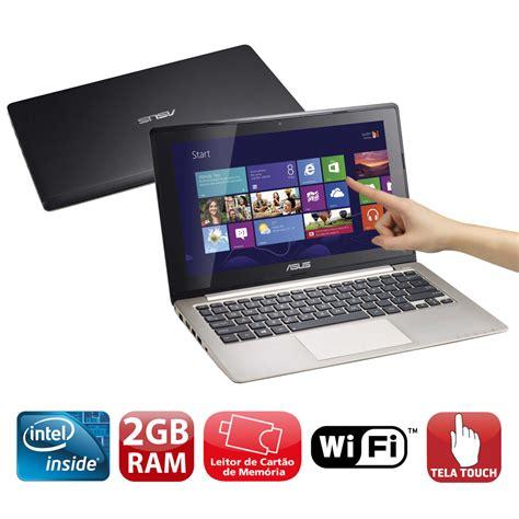 Notebook Asus Vivobook X202e Pre O notebook touch asus vivobook x202e ct041h intel 174 dual core 2gb 500gb leitor de cart 245 es