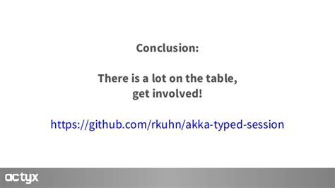 akka actor model exle taming distribution formal protocols for akka typed